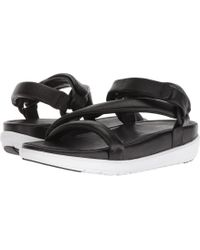 Fitflop - Loosh Luxetm Z-strap Leather Sandals (urban White Leather) Women's Sandals - Lyst