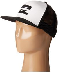 Billabong - All Day Trucker Hat (white 2) Caps - Lyst