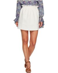 Bishop + Young - Paperbag Mini Skirt - Lyst