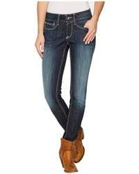 Ariat - R.e.a.l. Skinny Ella Jeans In Celestial - Lyst