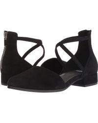 Eileen Fisher - Lyton (black Suede) Women's Shoes - Lyst