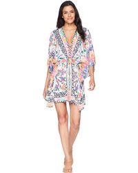 La Blanca - Majorca Kimono Cover-up - Lyst