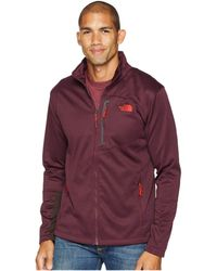 The North Face - Canyonlands Full Zip (fig Heather) Men's Coat - Lyst