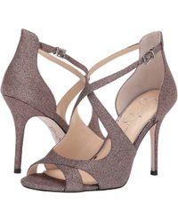 77590ef92ba2 Jessica Simpson - Averie (silver Micro Flash) Women s Shoes - Lyst