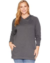 Columbia - Plus Size Weekend Wanderertm Tunic (black) Women's Long Sleeve Pullover - Lyst