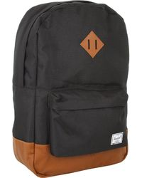 Herschel Supply Co. - Heritage (peacoat/tan Synthetic Leather) Backpack Bags - Lyst