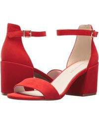 Kenneth Cole - Hannon Block Ankle Strap Heeled Sandal - Lyst