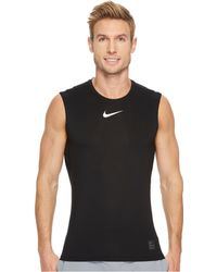 Nike - Pro Fitted Sleeveless Training Top - Lyst