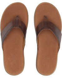 021217bb7232 Sperry Top-Sider - Gold Cup Amalfi Thong (brown) Men s Sandals - Lyst