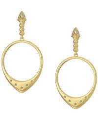 House of Harlow 1960 - Luna Stone Statement Earrings - Lyst