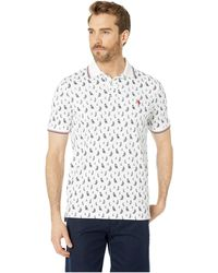 0eadfc4b Polo Ralph Lauren - Short Sleeve Classic Fit Mesh Polo (blackwatch  Sailboat) Men's Clothing