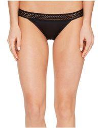 DKNY - Classic Cotton Bikini Lace Trim (black) Women's Underwear - Lyst