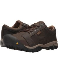Keen Utility - La Conner At Esd (cascade Brown) Men's Work Boots - Lyst