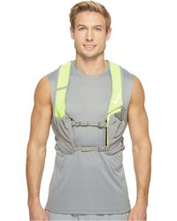 Nike Hydration Race Vest (black/total Crimson/silver) Athletic Sports Equipment - Multicolor