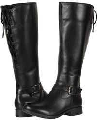 Earth - Raleigh (black Waterproof Full Grain Leather) Women's Boots - Lyst