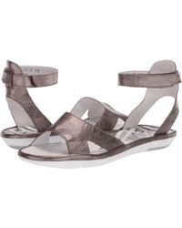8660c41fa17 Fly London - Mafi857fly (black Mousse) Women s Sandals - Lyst