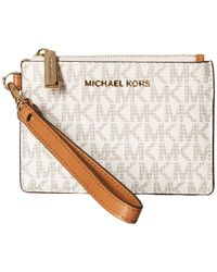 857ed524463f MICHAEL Michael Kors - Mercer Small Coin Purse (vanilla) Coin Purse - Lyst