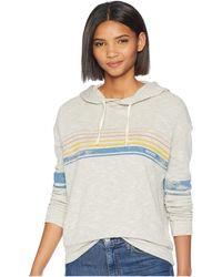 Rip Curl - My Beach Pullover Hoodie (heather Grey) Women's Sweatshirt - Lyst
