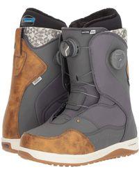Vans - Encoretm Pro '18 (grey/brown) Women's Skate Shoes - Lyst