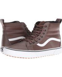 6dbc0b0f51 Vans - Sk8-hi Mte ((mte) Black gum) Skate Shoes