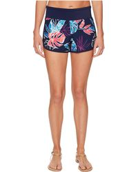 Tommy Bahama | Islandactive Graphic Tropics Hybrid Pull-on Short Cover-up | Lyst