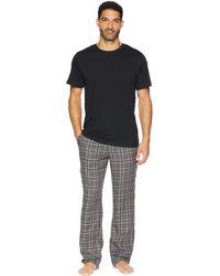 4c28b46caa UGG - Grant Woven Sleepwear Set (charcoal black) Men s Pajama Sets - Lyst