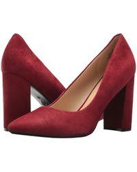 Nine West - Astoria9x9 (red Suede) Women's Shoes - Lyst