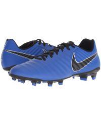 Nike - Tiempo Legend 7 Academy Fg (racer Blue/blue/metallic Silver) Men's Soccer Shoes - Lyst