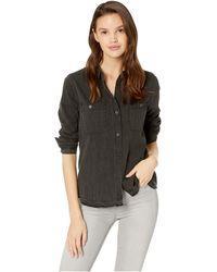 Blank NYC - Black Shirt In Break Free (break Free) Women's Clothing - Lyst