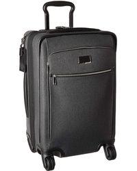 Tumi - Larkin Sam International Expandable 4 Wheel Carry-on (anthracite/black) Carry On Luggage - Lyst
