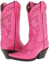 Dan Post - Kimmie (pink) Women's Boots - Lyst