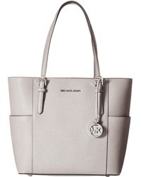 510297b70d47 MICHAEL Michael Kors - Jet Set Travel Large Tote (ultra Pink) Tote Handbags  -