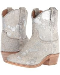 Lucchese - Sterling (silver Hair-on Calf) Cowboy Boots - Lyst