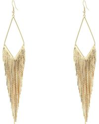 Guess - 268256-21 (gold) Earring - Lyst