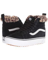 Vans - Sk8-hi Platform Mte ((mte) True White/pink Fur) Shoes - Lyst