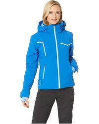 Spyder - Protege Jacket (black/white/hibiscus) Women's Coat - Lyst