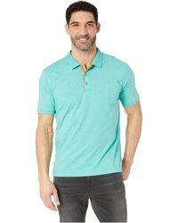 64b9990728 Lyst - Robert Graham Westan Short Sleeve Polo (white) Men's Clothing ...