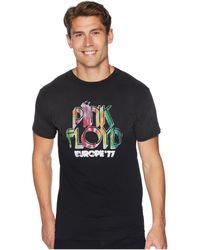 The Original Retro Brand - Potassium Wash Vintage Pink Floyd Shirt (potassium Black) Men's T Shirt - Lyst