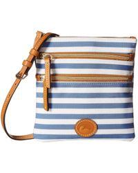 Dooney & Bourke - Sullivan North/south Triple Zip (blue) Handbags - Lyst