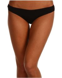 On Gossamer - Cabana Cotton Hip Bikini 1402 (white) Women's Underwear - Lyst