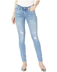 PAIGE - Verdugo Ultra Skinny In Kayson Distressed (kayson Distressed) Women's Jeans - Lyst