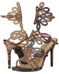 J. Reneé - Orlena (black Multi/gold) High Heels - Lyst