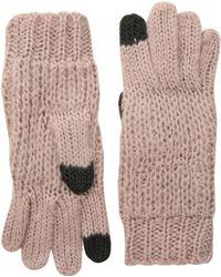 Michael Stars - Stardust Gloves (abalone) Liner Gloves - Lyst