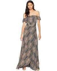 Flynn Skye - Bella Maxi Dress (pastel Blooms) Women's Dress - Lyst