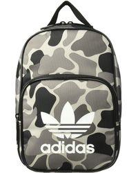 size 40 5dfda d459c adidas Originals - Originals Santiago Lunch Bag (camo Aop Carbon black white )