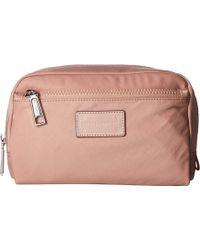 Rebecca Minkoff - Nylon Cosmetic Pouch (vintage Pink) Wallet Handbags - Lyst