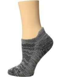 Columbia - Merino Wool No Show Tab 1-pack (charcoal) No Show Socks Shoes - Lyst