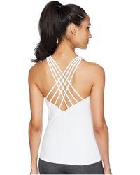 Alo Yoga - Harmony Tank Top (white) Women's Sleeveless - Lyst