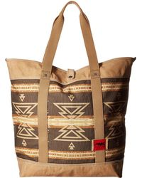 Mountain Khakis - Limited Edition Carryall Tote (mosaic Yellowstone Print) Tote Handbags - Lyst
