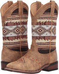 Laredo - Scout (tan/aztec) Cowboy Boots - Lyst